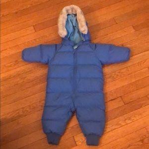 L.L.Bean 3/6MO Goose Down Infant Snow Suite
